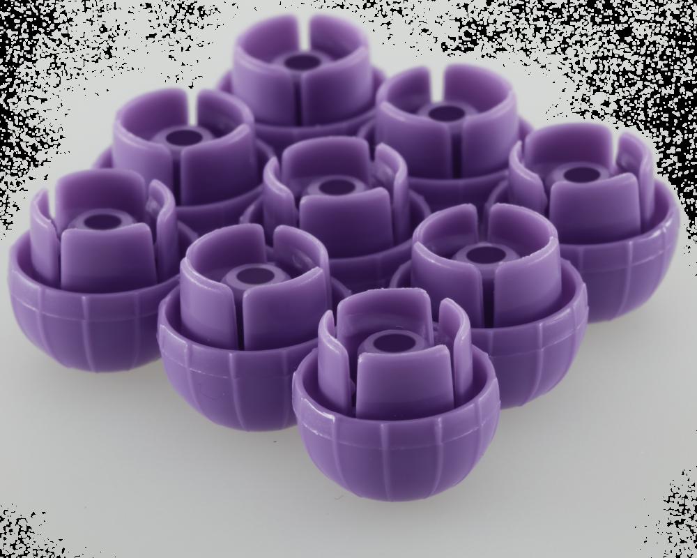 Purple NeoSecure Self Righting Tip Caps